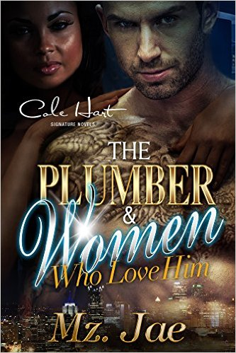 Cover Art for THE PLUMBER AND THE WOMEN WHO LOVE HIM by Mz. Jae