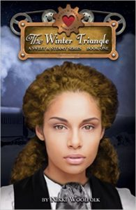Cover Art for THE WINTER TRIANGLE by Nikki Woolfolk