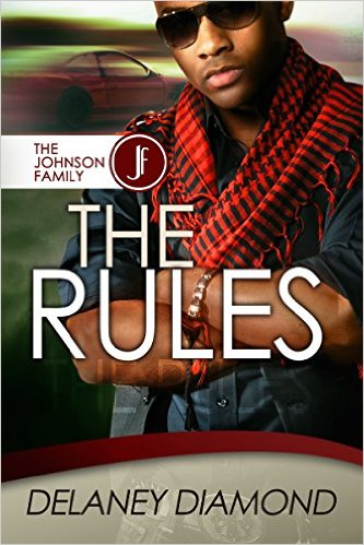 Cover Art for THE RULES by Delaney Diamond