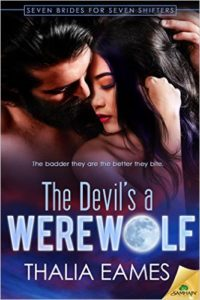 Cover Art for THE DEVIL'S A WEREWOLF by Thalia Eames