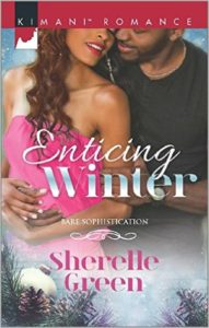 Cover Art for ENTICING WINTER by Sherelle Green