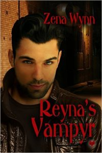 Cover Art for REYNA'S VAMPYR by Zena Wynn