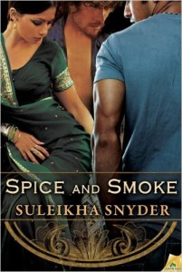 Cover Art for SPICE AND SMOKE by Suleikha Snyder