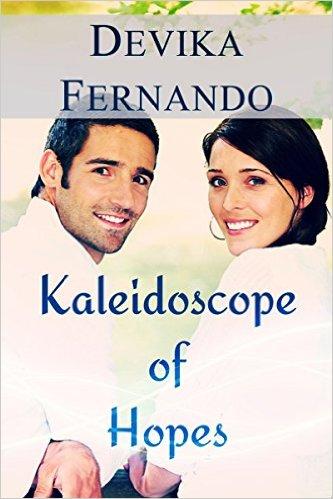 Cover Art for KALEIDOSCOPE OF HOPES by Devika Fernando