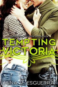 Cover Art for TEMPTING VICTORIA by Mina V.  Esguerra