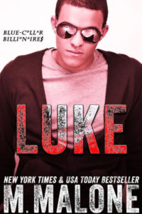 Cover Art for LUKE by Minx Malone