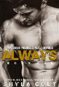 Cover Art for ALWAYS by Shyla Colt