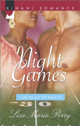 Cover Art for NIGHT GAMES by Lisa Marie Perry