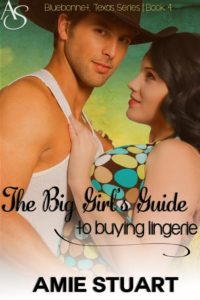 Cover Art for THE BIG GIRL'S GUIDE TO BUYING LINGERIE by Amie Stuart