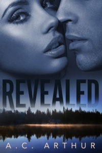 Cover Art for REVEALED by AC Arthur