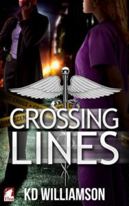 Cover Art for Crossing Lines by KD Williamson