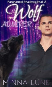 Cover Art for Wolf Admirer by Minna Lune