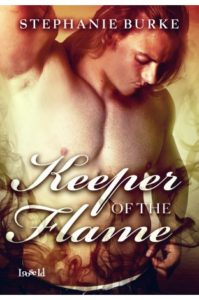 Cover Art for KEEPER OF THE FLAME by Stephanie Burke