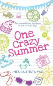 Cover Art for ONE CRAZY SUMMER by Ines Bautista-Yao