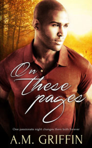 Cover Art for On These Pages by A.M. Griffin