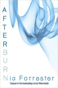 Cover Art for AFTERBURN by Nia  Forrester