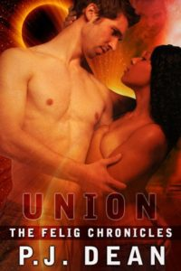 Cover Art for UNION, THE FELIG CHRONICLES BK 3 by P. J. Dean