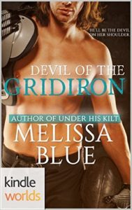 Cover Art for DEVIL OF THE GRIDIRON by Melissa Blue