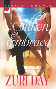 Cover Art for SILKEN EMBRACE by Zuri Day