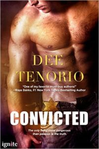 Cover Art for CONVICTED by Dee Tenorio