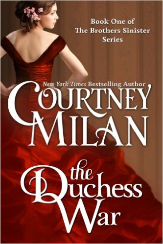 Cover Art for THE DUCHESS WAR by Courtney Milan