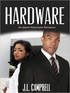 Cover Art for HARDWARE by J.L. Campbell