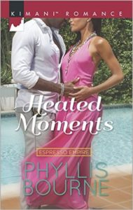 Cover Art for HEATED MOMENTS by Phyllis Bourne