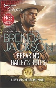 Cover Art for BREAKING BAILEY'S RULES by Brenda Jackson