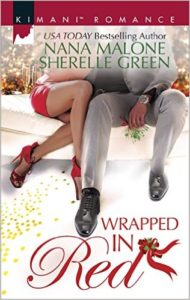 Cover Art for WRAPPED IN RED by Sherelle Green
