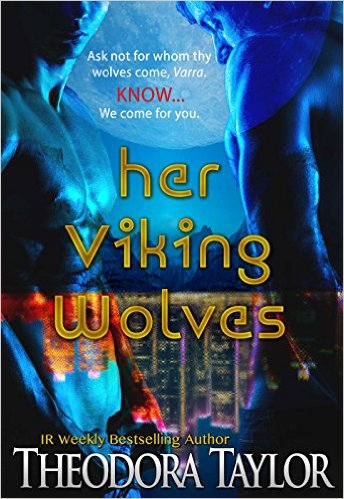 Cover Art for HER VIKING WOLVES by Theodora Taylor