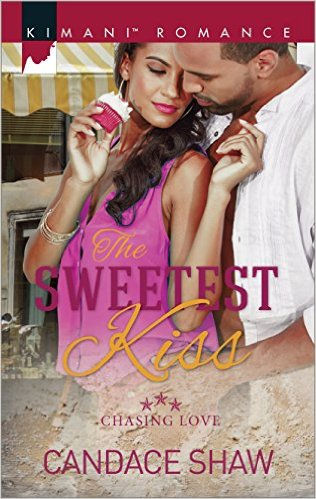 Cover Art for THE SWEETEST KISS by Candace Shaw