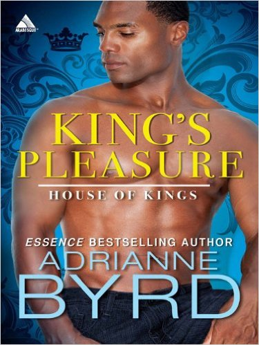 Cover Art for KING'S PLEASURE by Adrianne Byrd