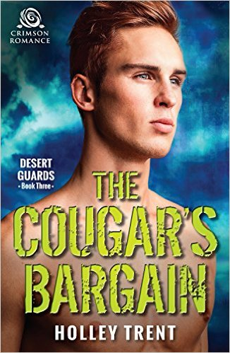 Cover Art for THE COUGAR'S BARGAIN by Holley Trent