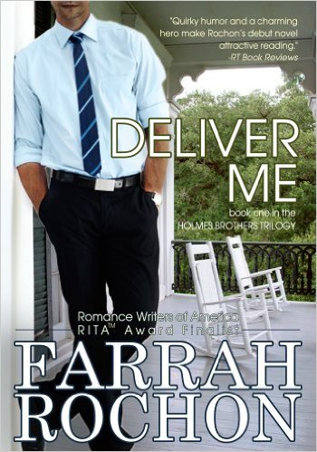 Cover Art for DELIVER ME by Farrah Rochon
