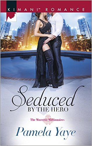 Cover Art for SEDUCED BY THE HERO by Pamela Yaye