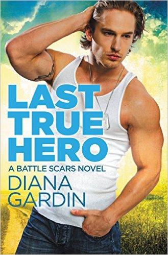 Cover Art for LAST TRUE HERO by Diana Gardin