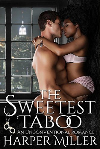 Cover Art for THE SWEETEST TABOO by Harper Miller