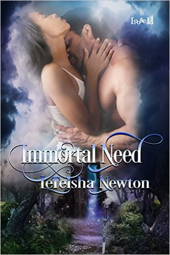 Cover Art for IMMORTAL NEED by LeTeisha Newton