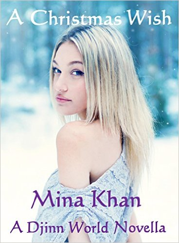 Cover Art for A CHRISTMAS WISH by Mina Khan