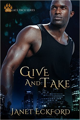 Cover Art for GIVE AND TAKE by Janet Eckford