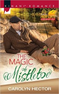 Cover Art for THE MAGIC OF MISTLETOE by Carolyn Hector
