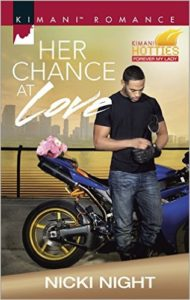 Cover Art for HER CHANCE AT LOVE by Nikki Night