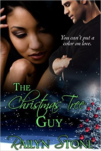 Cover Art for THE CHRISTMAS TREE GUY by Railyn Stone