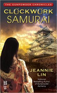 Cover Art for CLOCKWORK SAMURAI by  Jeannie Lin