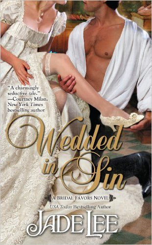 Cover Art for WEDDED IN SIN by Jade Lee