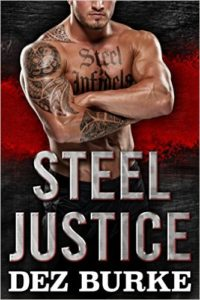 Cover Art for STEEL JUSTICE by Dez Burke