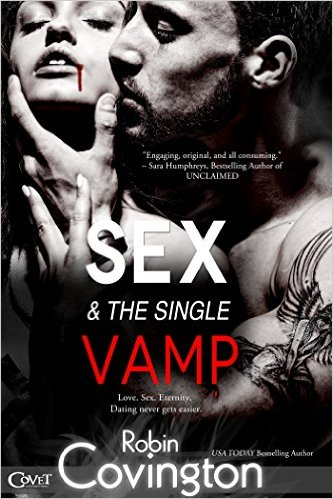 Cover Art for SEX AND THE SINGLE VAMP by Robin Covington