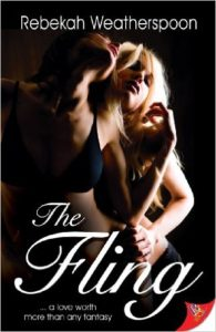 Cover Art for THE FLING by Rebekah Weatherspoon