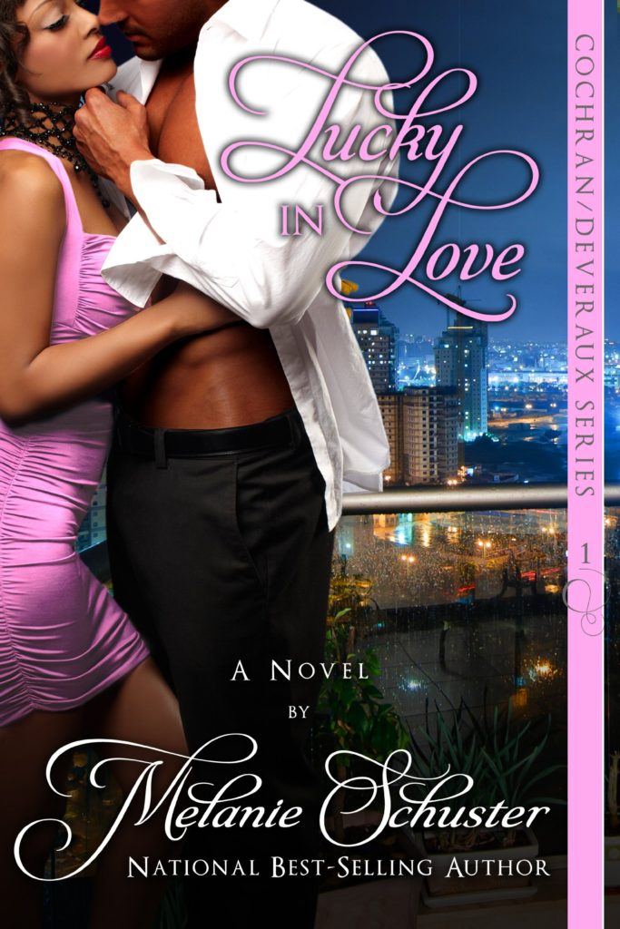 Cover Art for LUCKY IN LOVE by Melanie Schuster