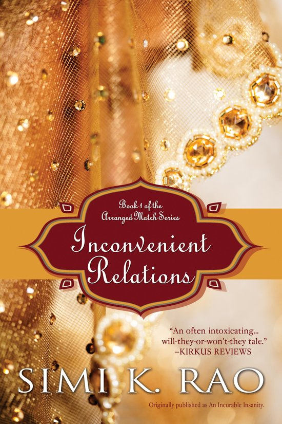 Cover Art for INCONVENIENT RELATIONS by Simi K. Rao